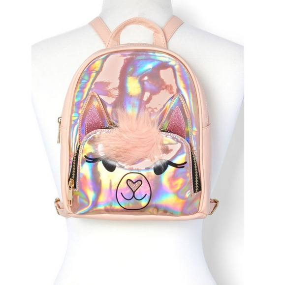 055706976b4 OMG Accessories Bags | Holographic Llama Backpack | Poshmark